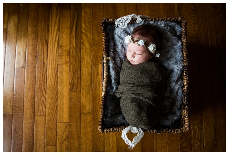 In Home Newborn Photography Okotoks