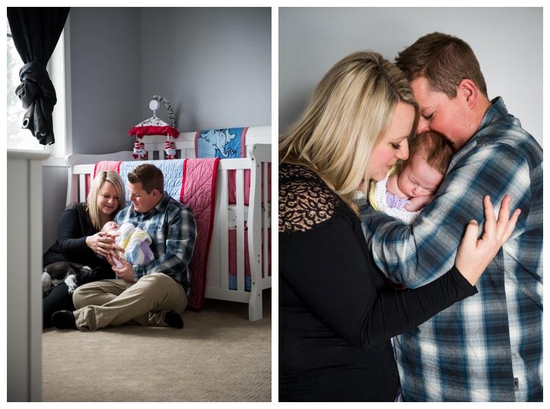 Okotoks In Home Newborn Photos