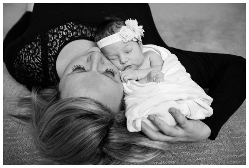 Okotoks At Home Newborn Photos
