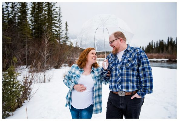 Three Sister's Maternity Photography – Canmore Maternity Photographer