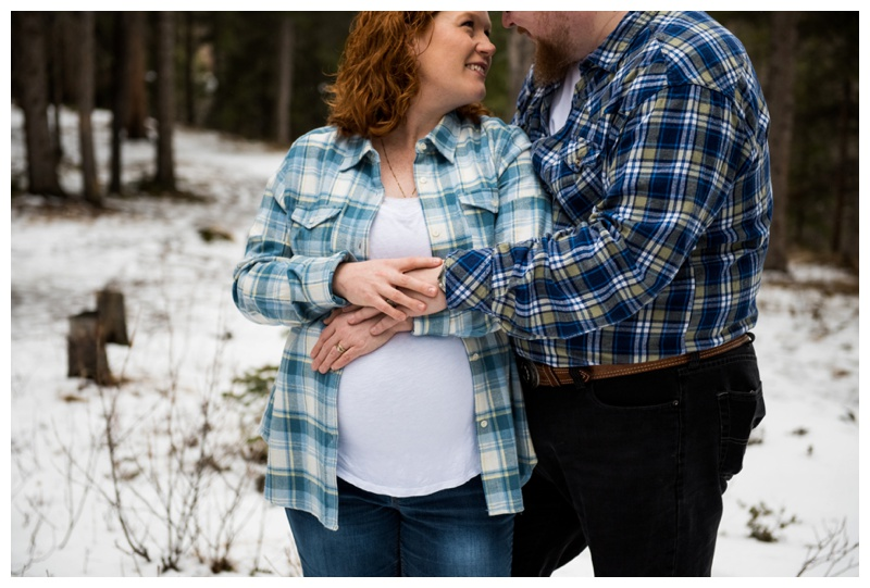 Canmore Maternity Photo Shoot