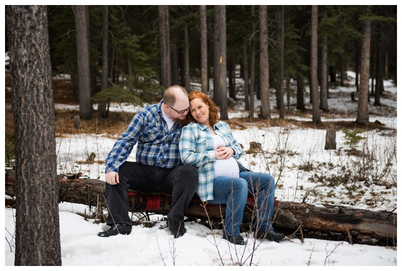 Maternity Photos Canmore Alberta