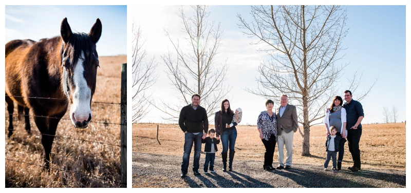 Okotoks Extended Family Photography