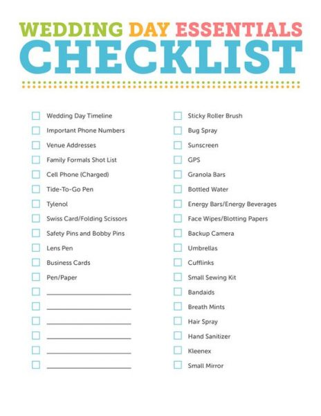 Ultimate Wedding Photographer Checklist - Calgary Photography
