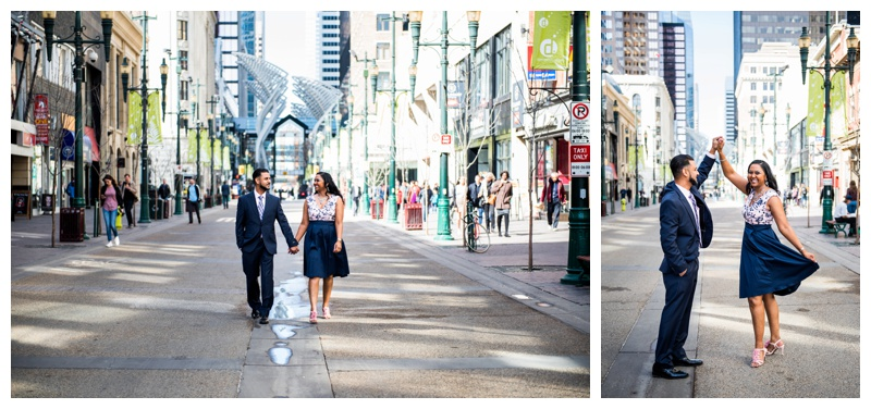 Stephen Ave Engagement Photos