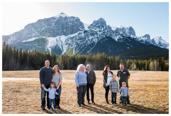 Rocky Mountain Extended Family Photography – Canmore Family Photographer