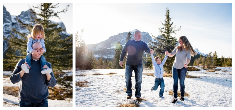 Fun Mountain Family Photography