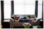 Cozy Calgary At Home Couple Session – Calgary Couple Photographer