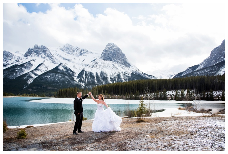 Canmore Bride & Groom Photography