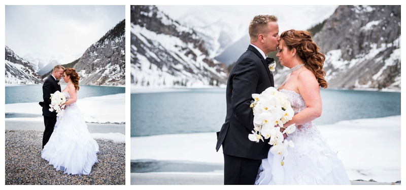 Canmore Spring Wedding Photos