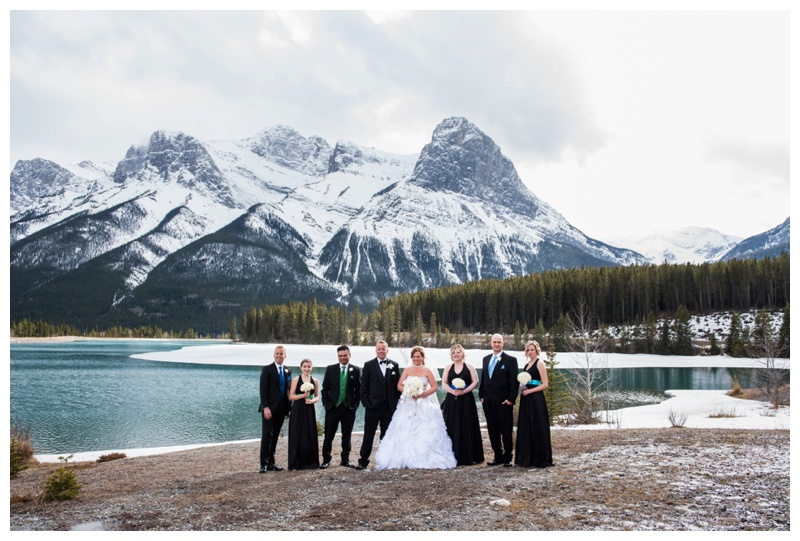 Canmore Wedding Party Photography1