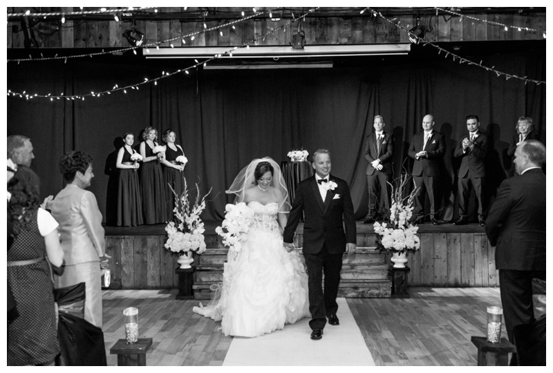 Indoor Wedding Ceremony Canmore