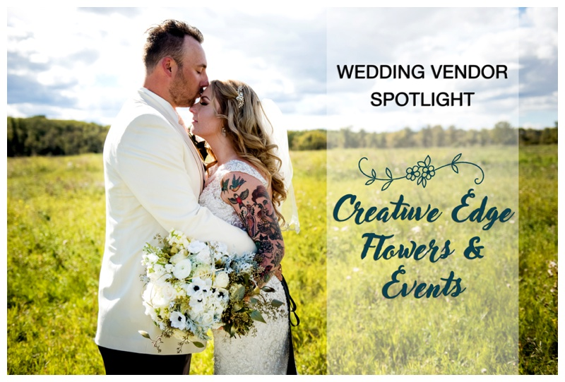 Creative Edge Flowers & Events - Calgary Wedding Vendor Spotlight