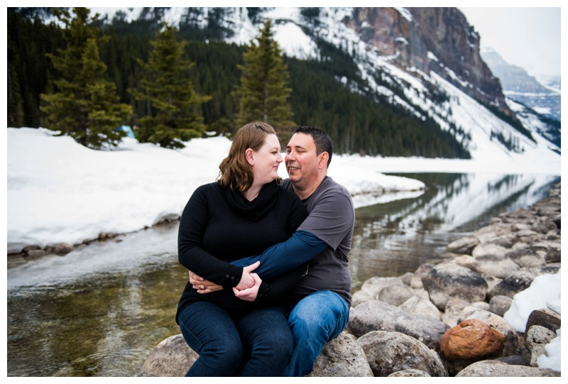 Lake Louise Couple Photography