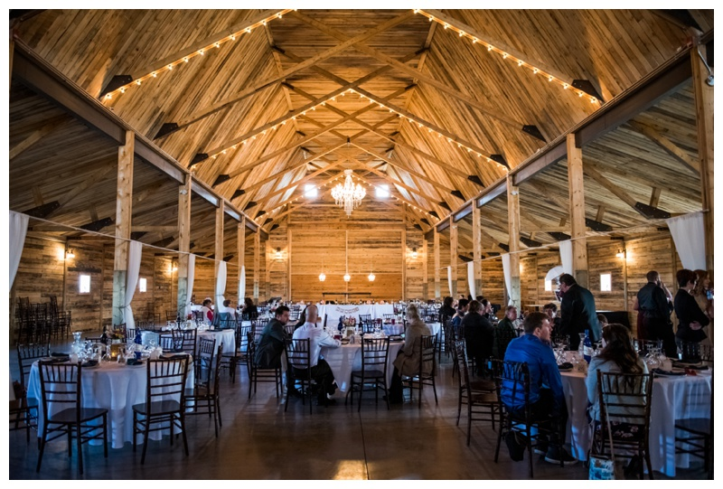 Barn Wedding Reception- Willow Lane Barn