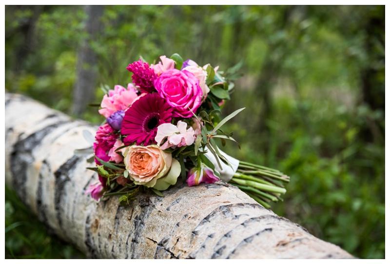 Black Earth Flowers Wedding Boquet