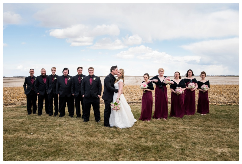 Calgary Farm Wedding Photography