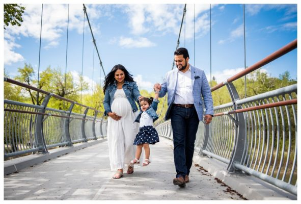 Calgary Sandy Beach Maternity Photography | Deol Family | Calgary Photographer