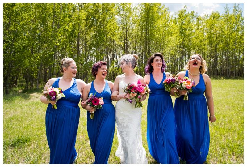 Calgary Spring Wedding Photos