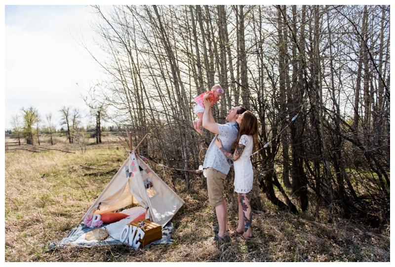 Calgary Teepee Family Photos