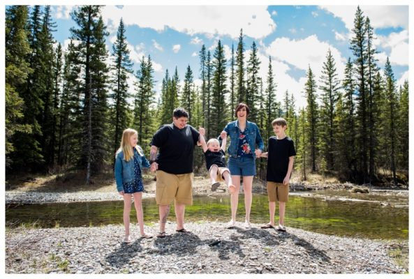 Kananaskis Family Photography Session | The Lamarca Family