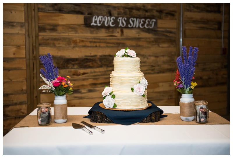 Cocoa Tree Wedding Cake