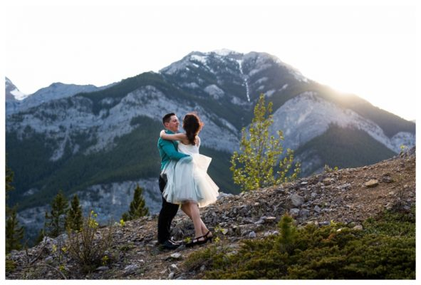 Barrier Lake Engagement Session | Tim & Lisa-Anne | Canmore Photographer