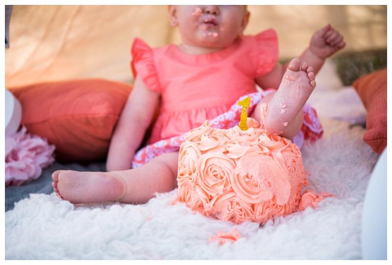 First Birthday Cake Smash Calgary
