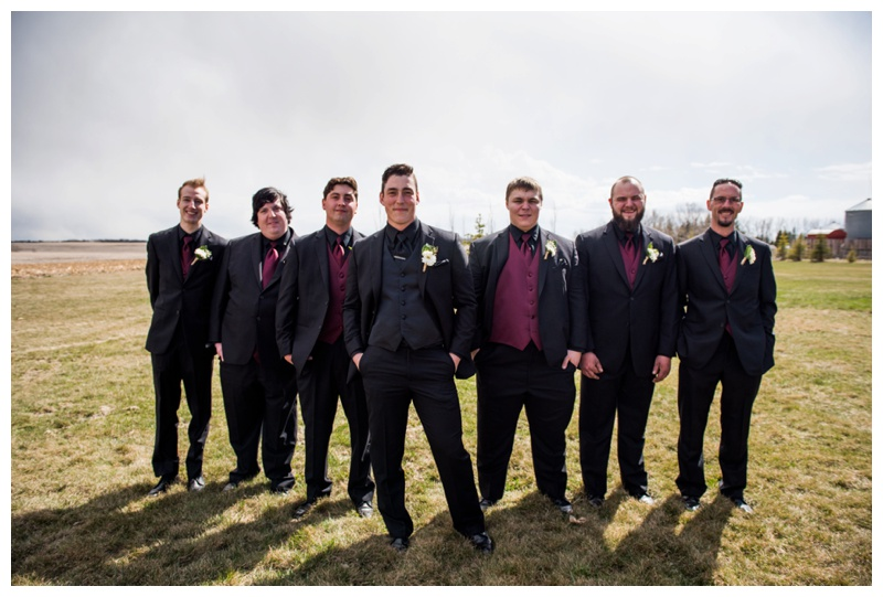 Groomsmen Photography - Willow Lane Barn