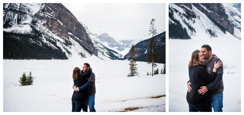 Lake Louise Engagement Photography