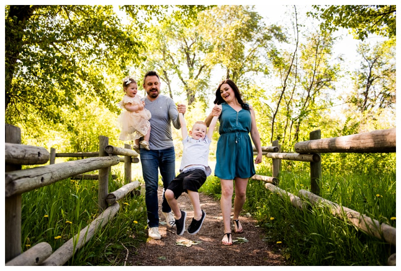 Pearce Estate Park Calgary Family Photos