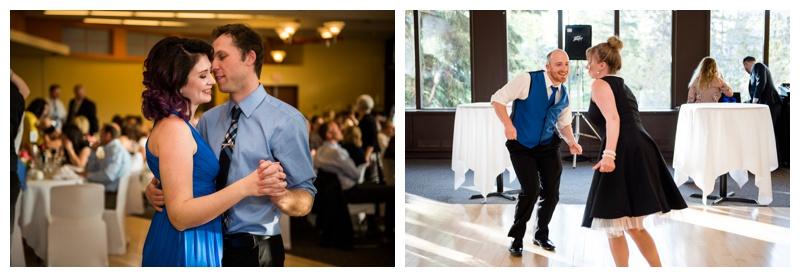 U of C Alberta Room Wedding Reception