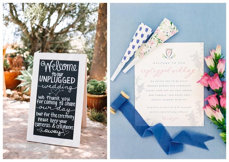 Unplugged Wedding Ceremonies