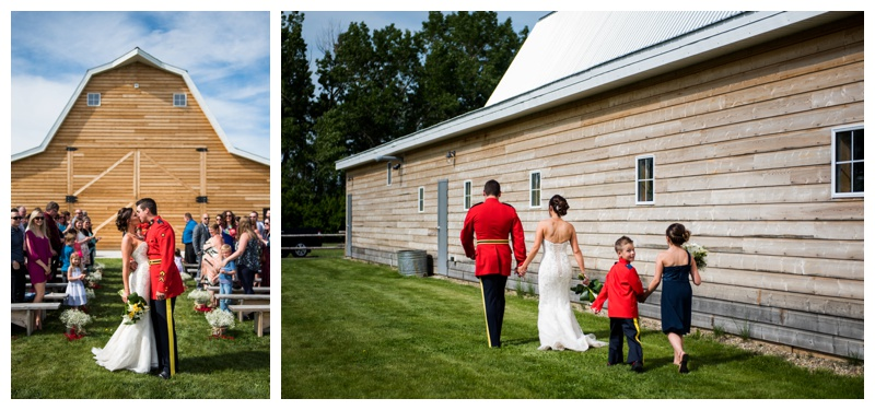 Alberta Barn Wedding