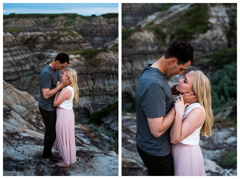 Badland Couple Photos Drumheller