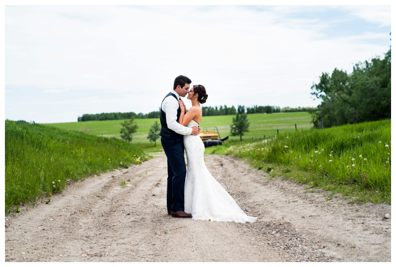 Barn Wedding - Calgary Wedding Photography