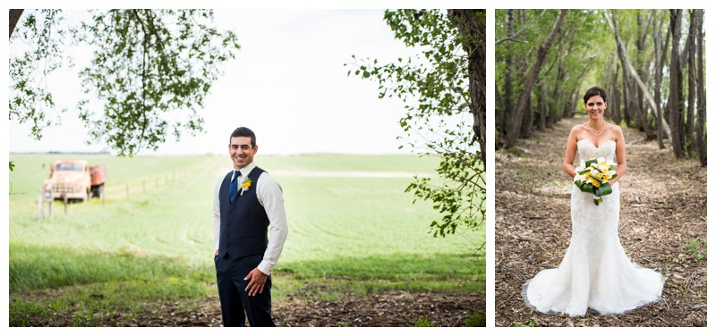 Bride and Groom Portraits Calgary