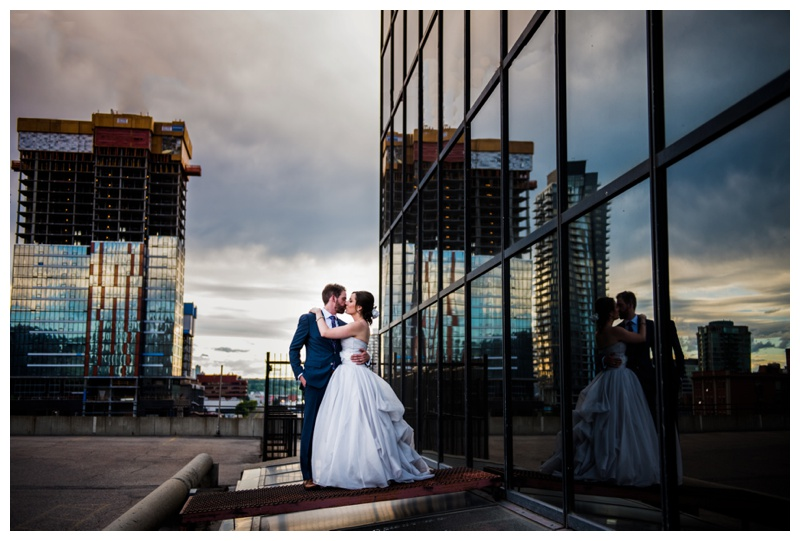 Calgary Downtown Wedding Photography