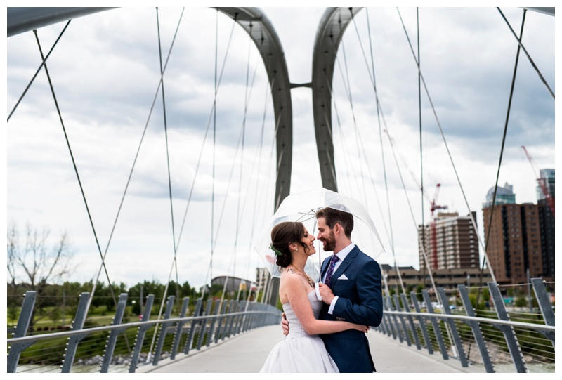 Calgary East Village Wedding Photos