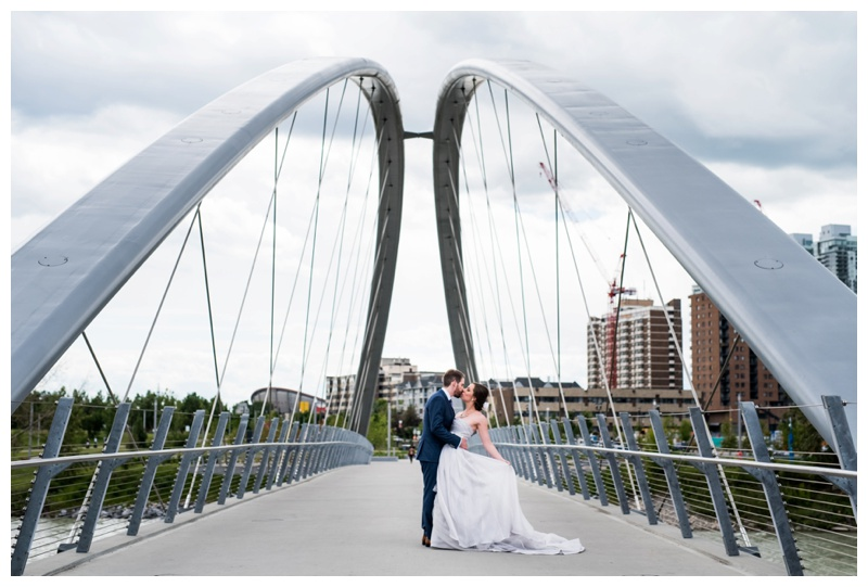 Calgary East Village Wedding