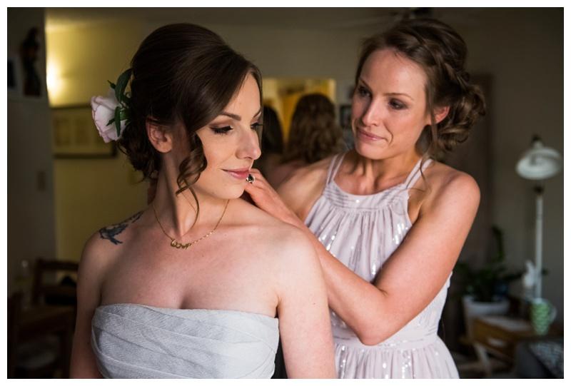Calgary Getting Ready Wedding Photos