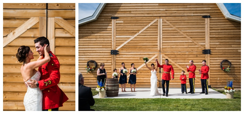 Calgary RCMP Wedding