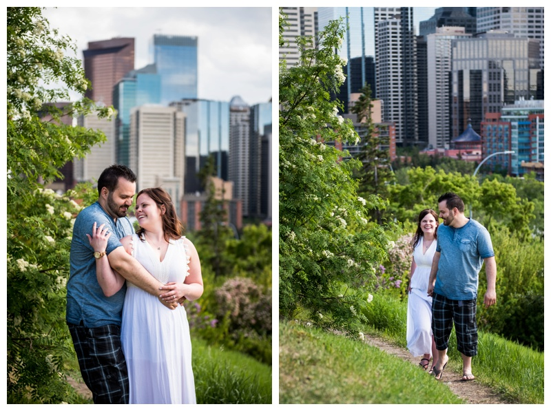 Calgary Rotary Park Engagement Photos