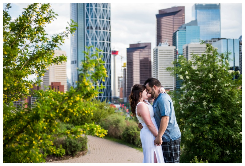Calgary Rotary Park Engagement Photography