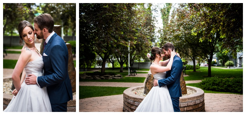 Calgary Urban Wedding Photography