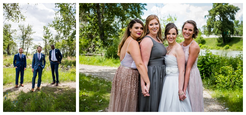 Calgary Wedding Party Photography