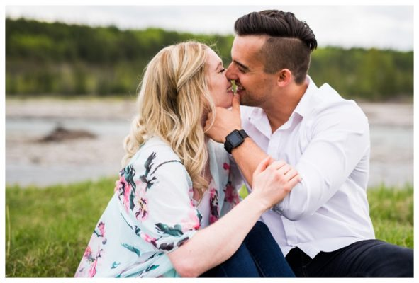 Kananaskis Engagement Session | Tom & Heather | Canmore Wedding Photographer