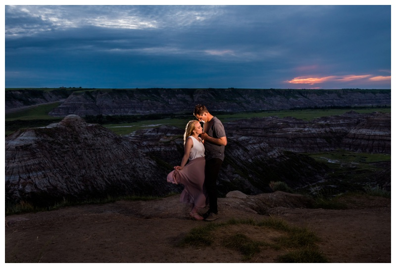 Drumheller First Anniversary Couple Photos