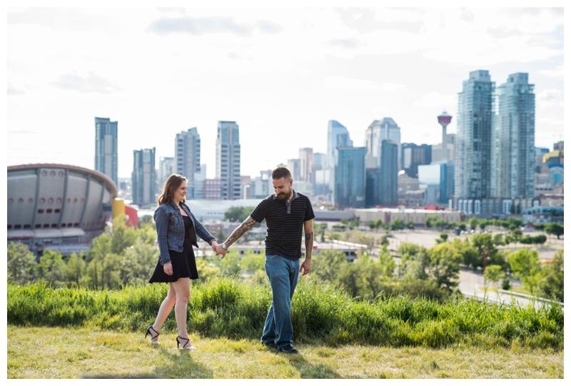 Engagement Photos Scottsmans Hill Calgary