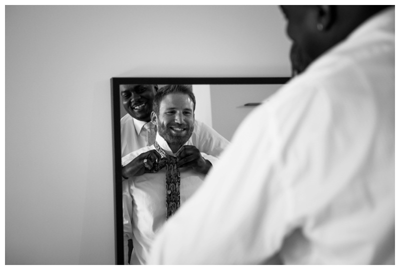 Groom Prep Wedding Photos Calgary